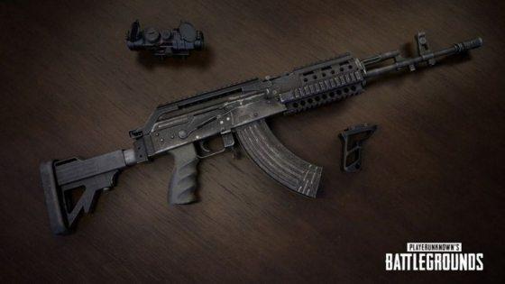 Senjata Paling Sakit Di PUBG Mobile M762 Beryl