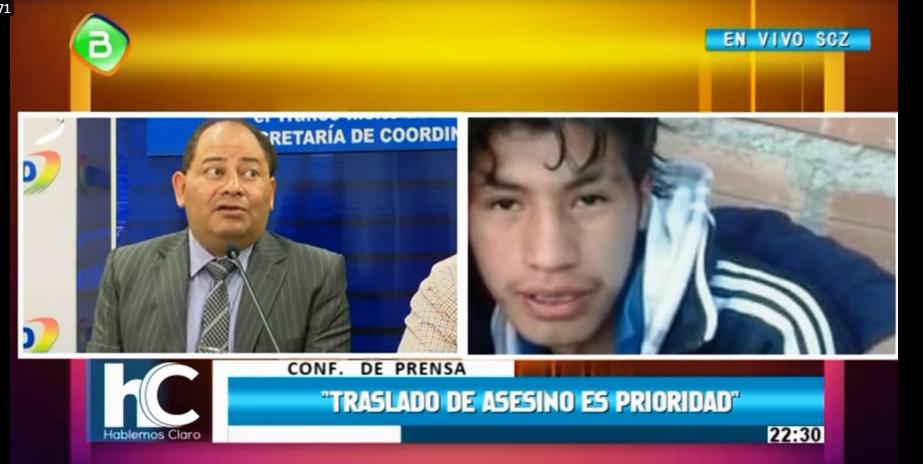 Romero espera que embajador Carlos Kim agilice traslado del presunto asesino / CAPTURA BTV