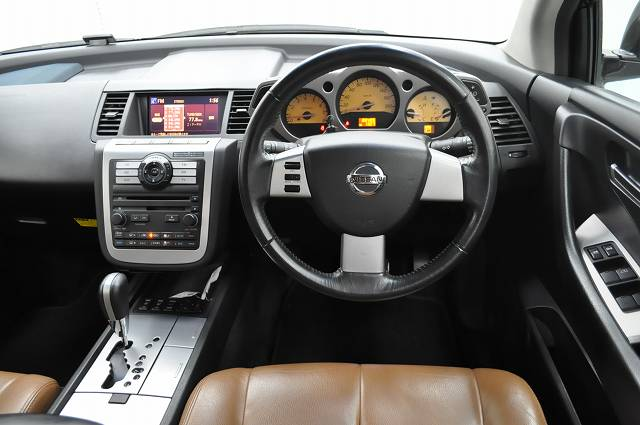 2007 Nissan Murano 250xl Mode Brown Leather Japaneses