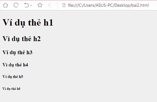 [Series Html] Bài 2: Các thẻ Html cơ bản. - Học html cơ bản - AnonyHome