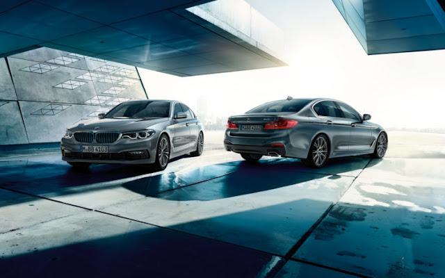 BMW Série 5 está programado para ir à venda em fevereiro 2017, apenas um mês após a sua estreia pública em Detroit