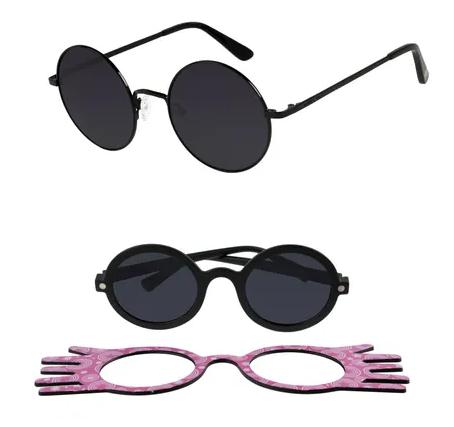 7a3f155a9 São óculos de sol, armações para óculos de grau e relógios. E é claro que  não podia faltar os modelos que lembram os óculos do Harry ou o de Luna  Lovegood ...