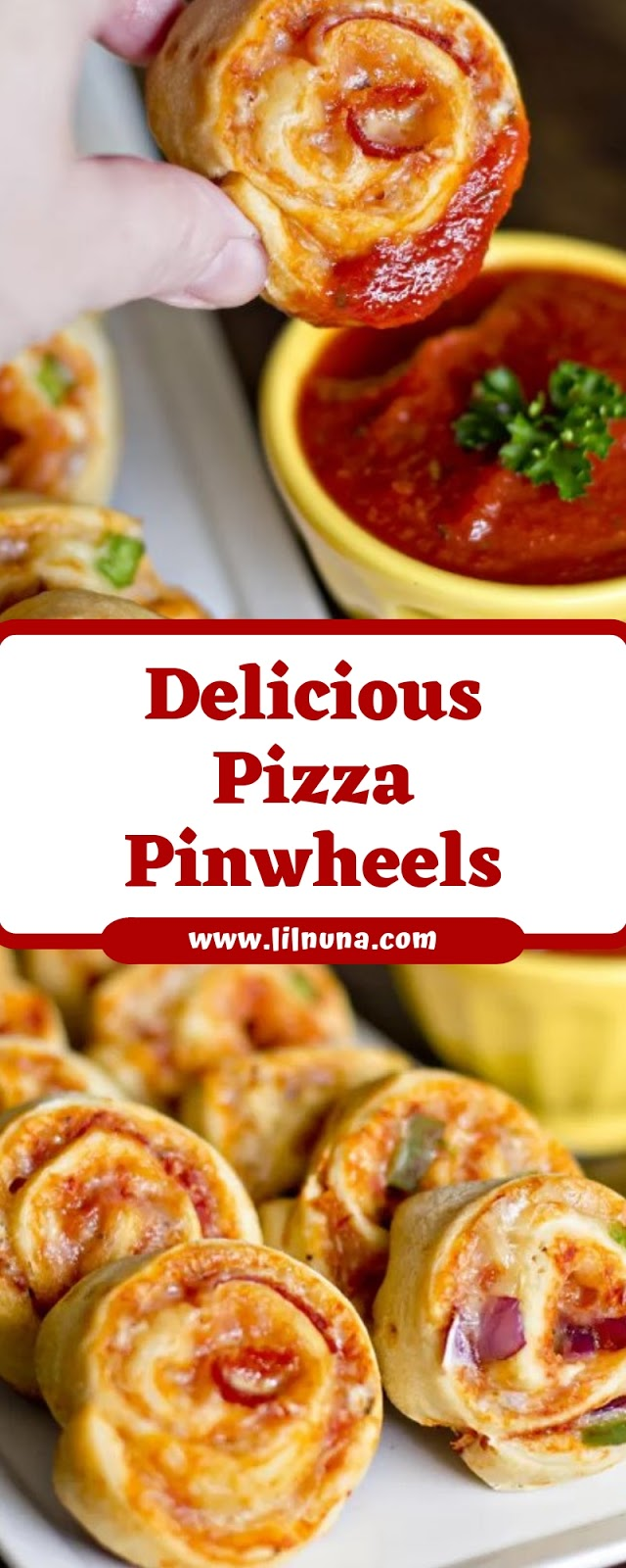 Delicious Pizza Pinwheels