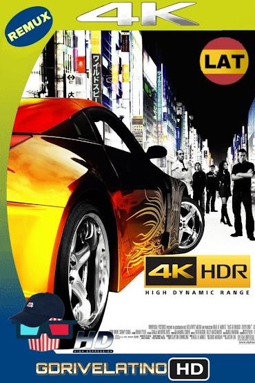 Rápido y Furioso: Reto Tokio (2006) BDRemux 2160P 4K HDR Latino MKV