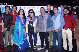 Gracy Singh and Bappi Lahiri   Blue Mountain Music Launch IMG 0651.JPG