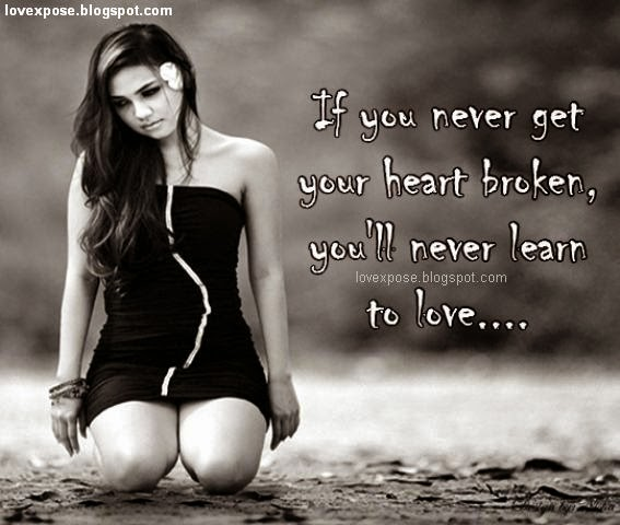 Very Sad Quotes Wallpapers Pics Images 2016 2017: Broken Heart Image With Quotes
