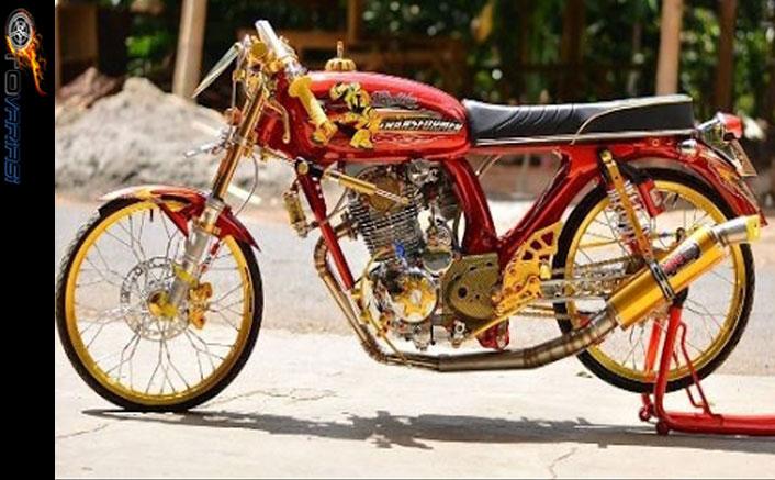 Modifikasi Motor Honda CB Street Racing  Otomodif