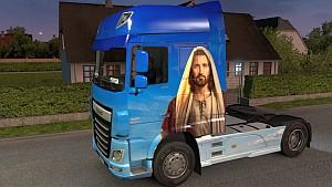 Jesus DAF Euro 6 skin