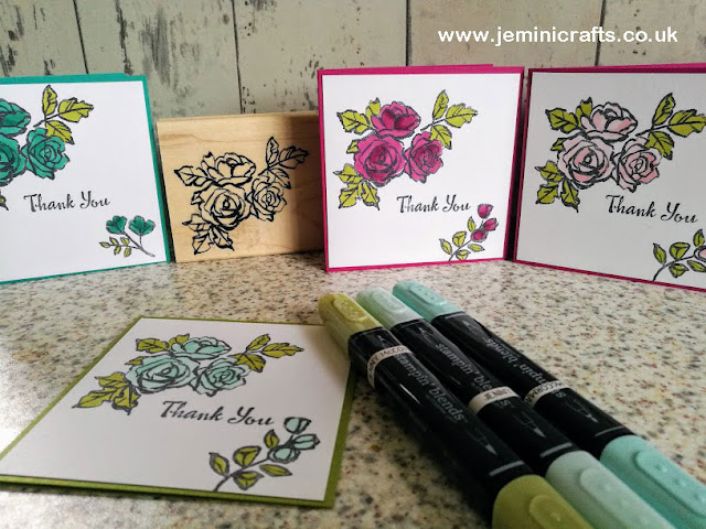 New stamp set Petal Palette coming Spring 2018 jeminicrafts.co.uk
