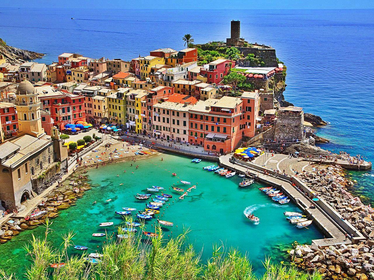 Vernazza Italy Beautiful Coastal Village