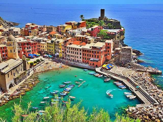 Vernazza Italy Beautiful Coastal Village