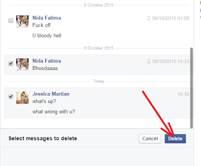 Delete Messages Or A Conversation On Facebook Fast - How To