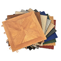 Greatmats TileFlex floor tile options wood look