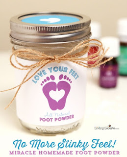 Homemade Foot Powder