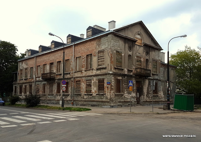 Warszawa Warsaw Strzelecka Praga Północ zabytek opuszczone