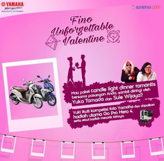 Lomba Foto Fino Unforgettable Valentine Berhadiah GoPro® HERO4 dan Smartphone