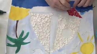 kerajinan kulit telur