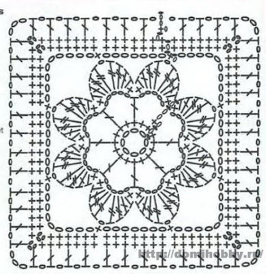 Irish crochet &: ВЕСЕЛЫЕ КВАДРАТЫ ОТ ALISA VERBITSKAYA