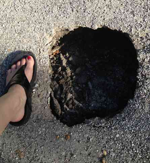 mapping sinkholes