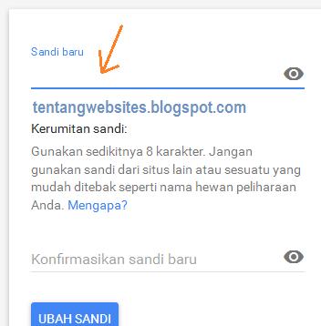 Cara terbaru ganti password akun gmail