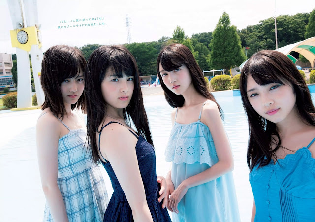 Nogizaka46 乃木坂46 Girls Summer Promise Wallpaper HD