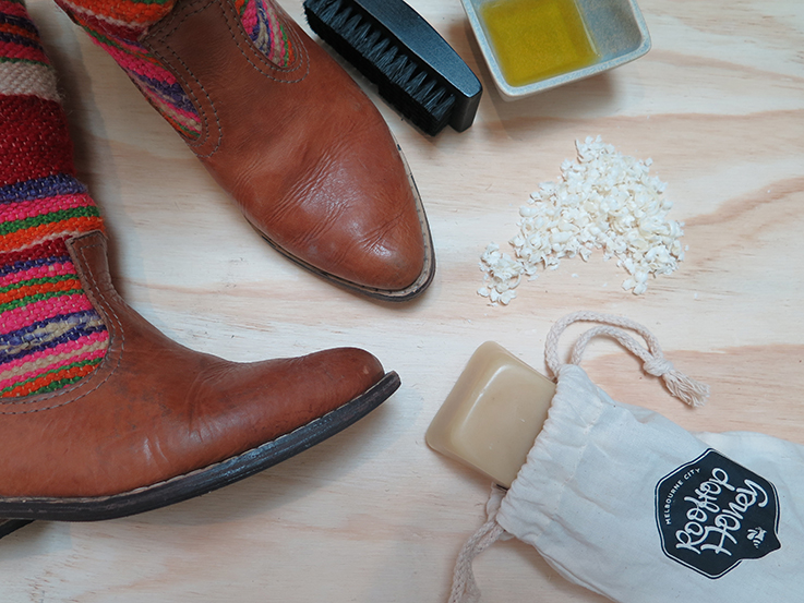 Make your own plastic free zero waste shoe polish