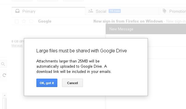 Cara Mengirim File Ukuran Besar Melalui Email Laptop Butut