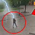 See how the electricity falls on the man, then you will be surprised to see what happened