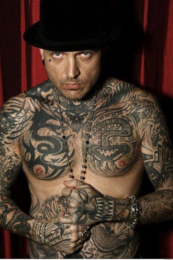 Tattoos big tits evan stone