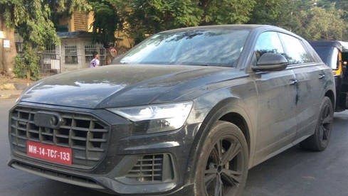 test of audi q8 on indian roads
