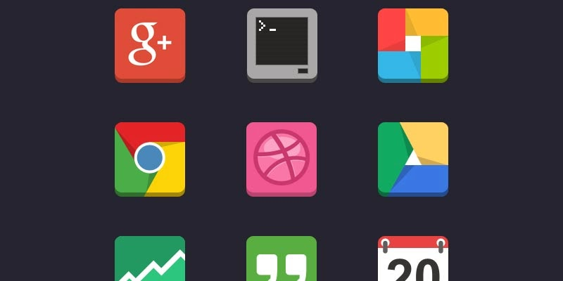 Flat Android Icon Pack