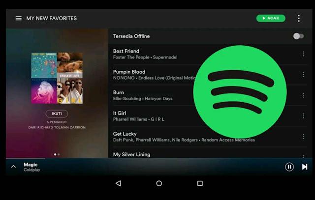 Download Spotify Music Premium Full APK dan Tanpa Iklan di Android