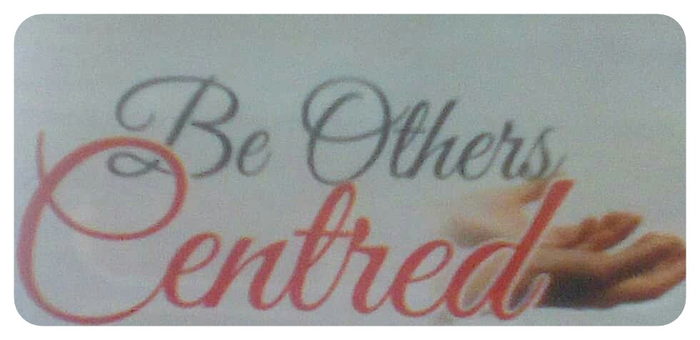 Be Others Centered | CHRISTIAN24 LIBRARY