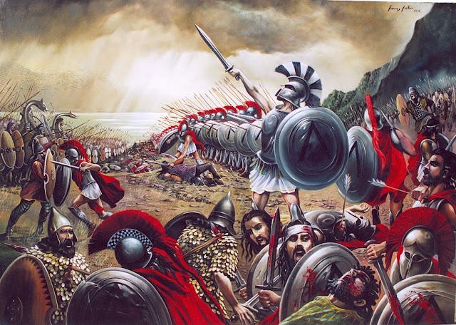 Αύγουστος του 480: Tο μεγαλύτερο έπος των αρχαίων Ελλήνων στη μάχη των Θερμοπύλων (βίντεο μεγάλο αφιέρωμα)