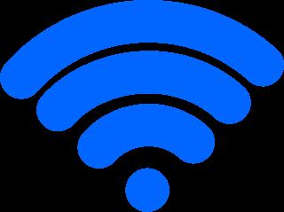tanda simbol wifi ruter