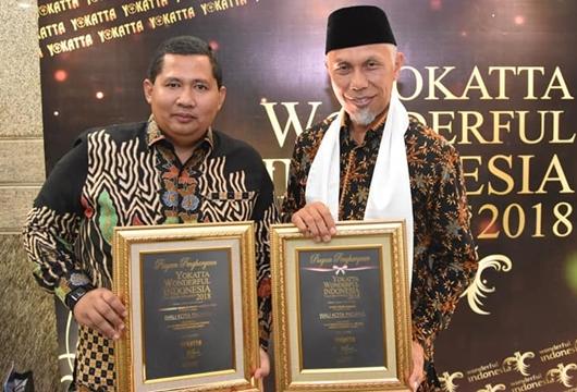 Kota Padang 10 Terbaik Nasional Pada Yokatta Wonderful Indonesia Tourism Award 2018