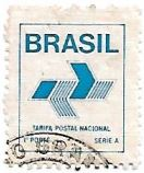 Selo Tarifa Postal Nacional, Série A