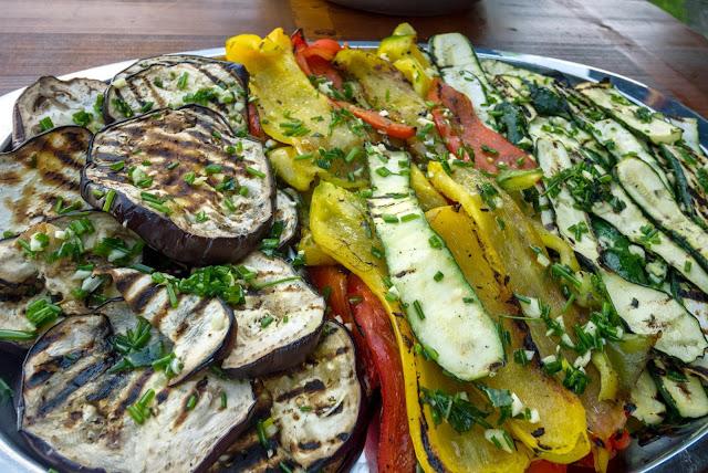 grigliata di verdure