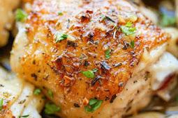 #RECIPES Garlic Brown Sugar Baked Chicken