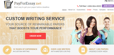payforessay net review legit essay writing services  criteria 1 range of writing services offered mark 17 20