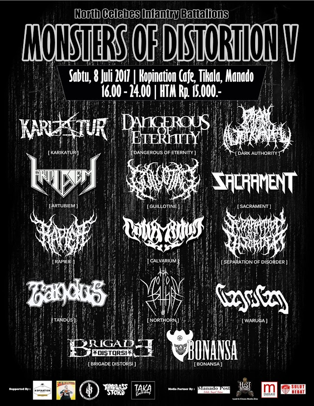 MONSTERS OF DISTORTION V