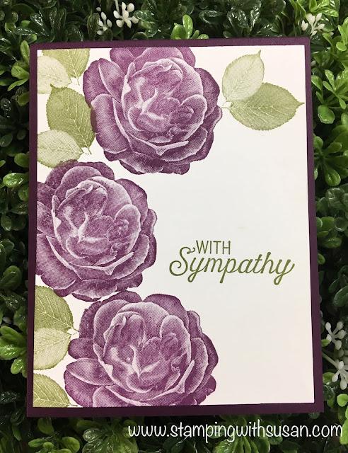 Stampin' Up! Healing Hugs, Flourishing Phrases, #simplestamping, www.stampingwithsusan.com