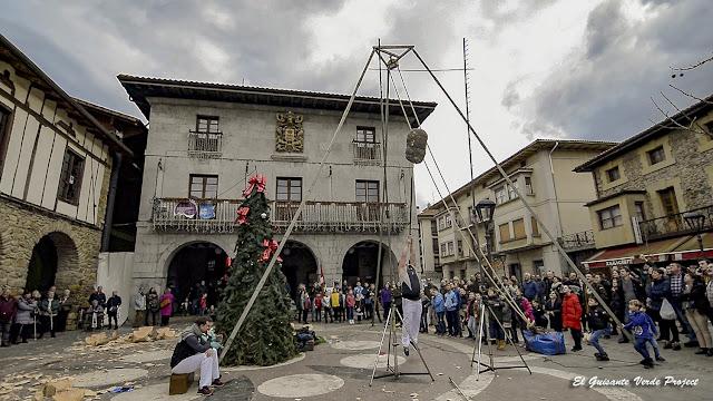 Orozko, Lanzamiento de Saco por El Guisante Verde Project