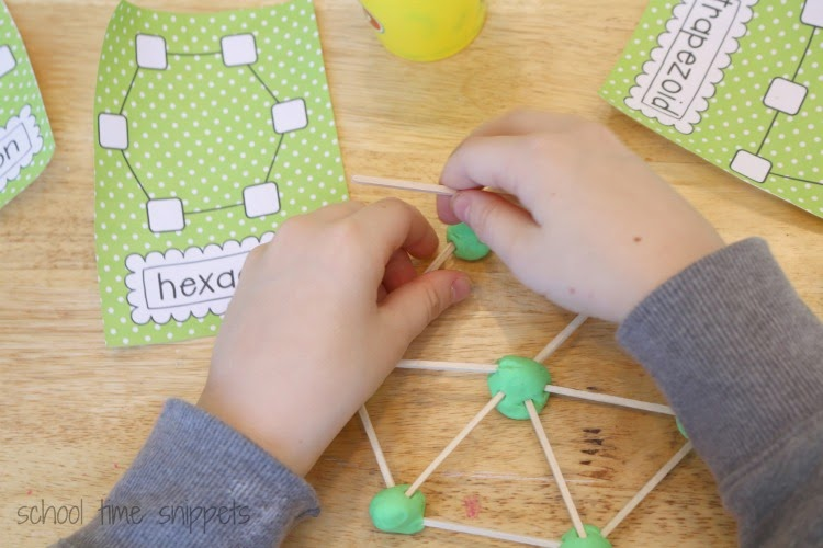 shapes activity for kids