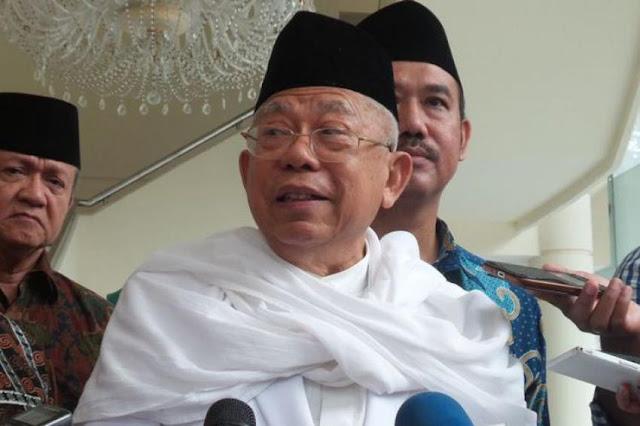 Ma'ruf Amin Diingatkan Tak Seret-seret NU ke Pilpres 2019