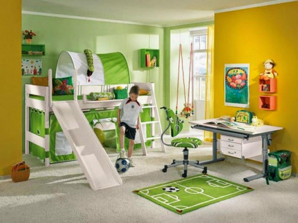 Desain kamar tidur anak laki-laki paling unik