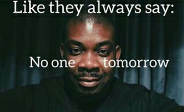 "Bad guy: Don Jazzy reveals 7 erotic poses he wants to share with his ""bae"""