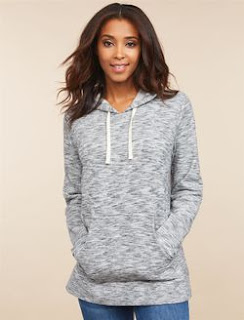 Side Access Hooded Nursing Hoodie