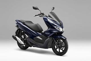 Honda PCX Hybrid dan Electric 2018 di Tokyo Motor Show 2017
