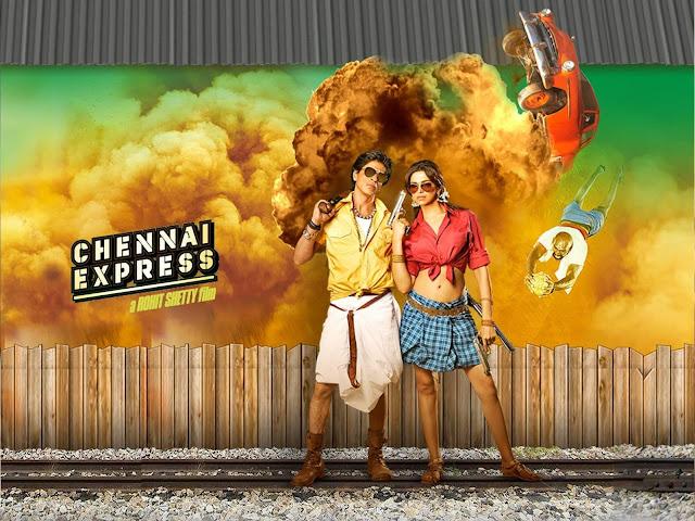 Chennai Express Wallpaper | Chennai Express Poster ...